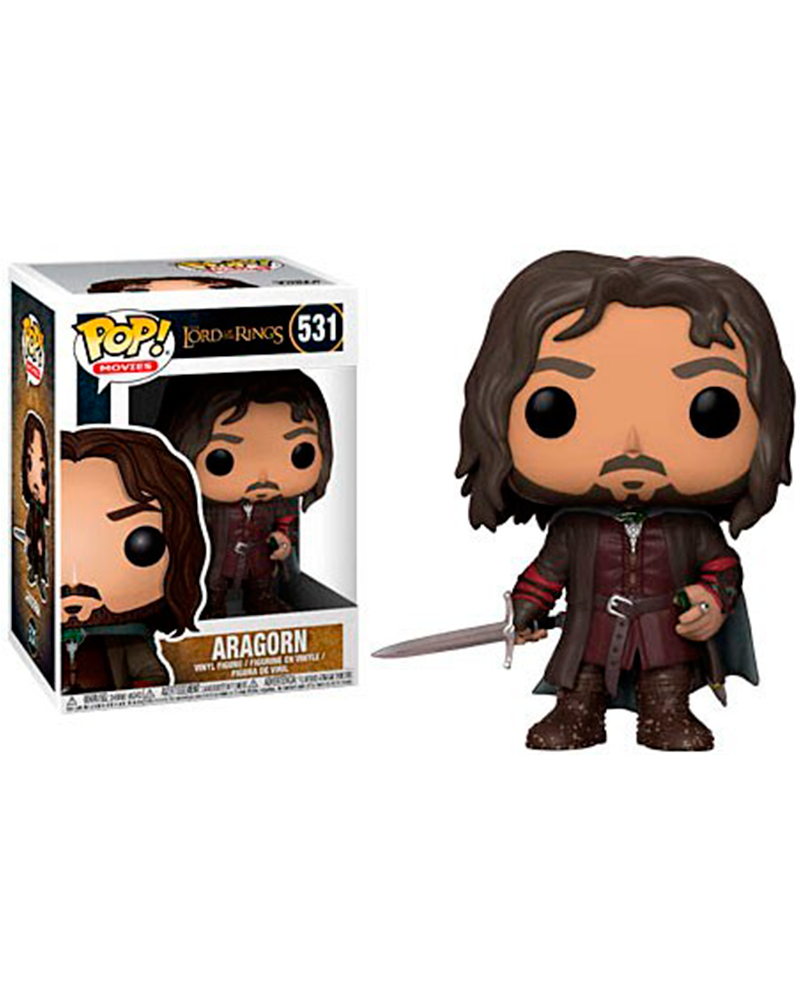 pop lord of the rings 531 aragorn 13565