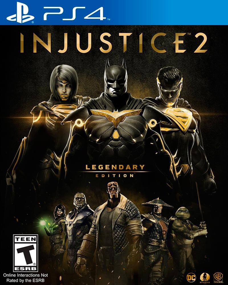 sony4 injustice 2 legendary edition