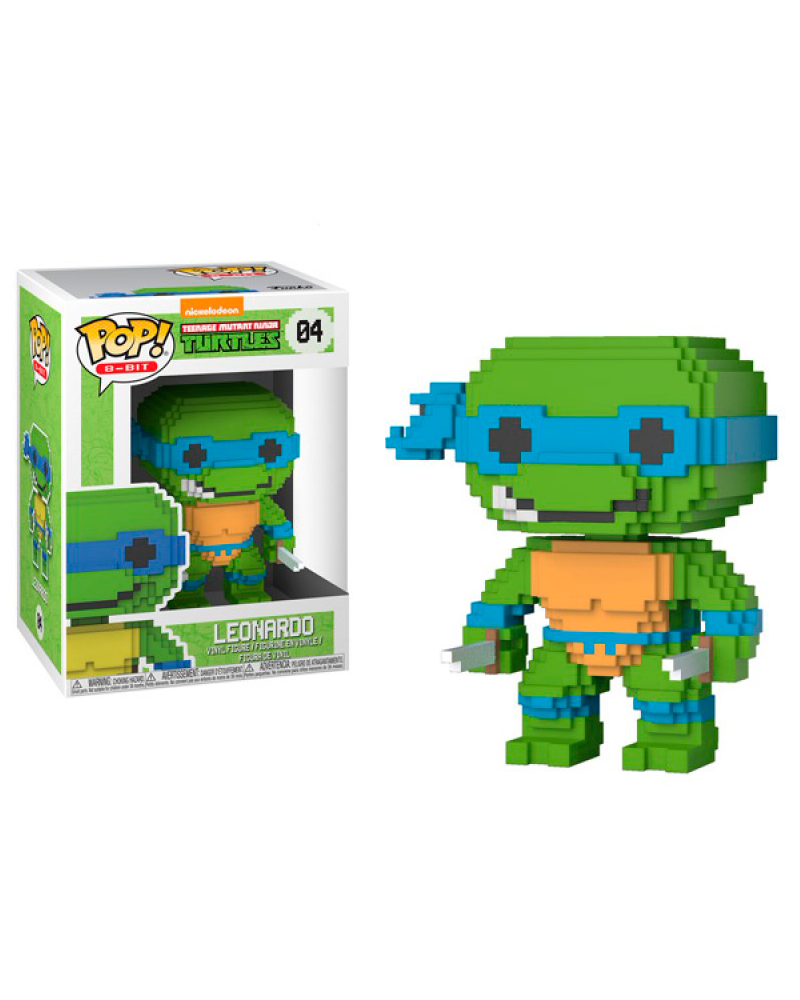 pop turtles 8 bit   04 leonardo 22981
