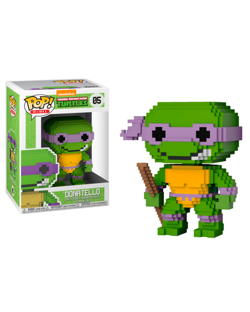 pop turtles 8 bit   05 donatello 22983
