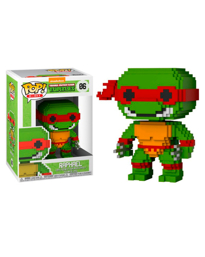 pop turtles 8 bit   06 raphael 22984