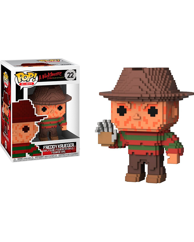 pop nightmare 8 bit  22 freddy krueger 24595