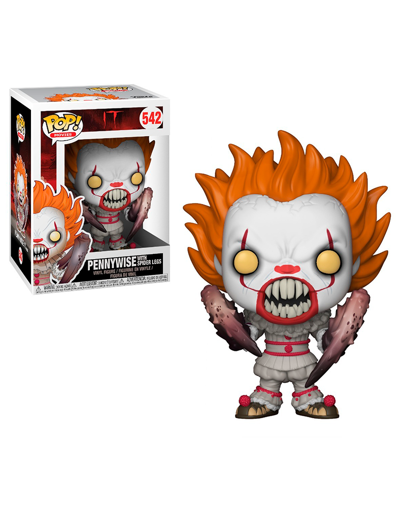 pop it 542 pennywise with spider legs 29526