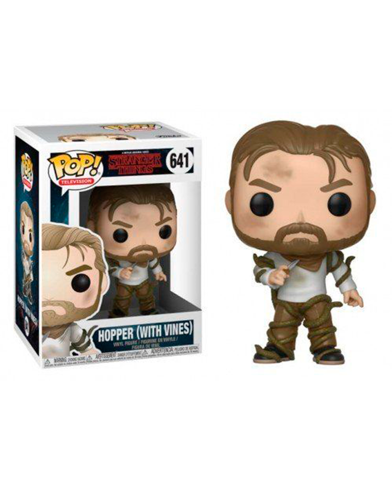 pop stranger things 641 hopper with vines  31022