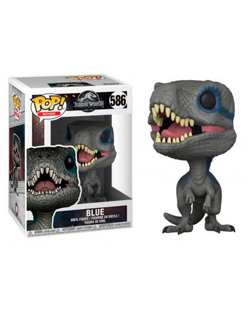 pop jurassic world 586 blue 30980