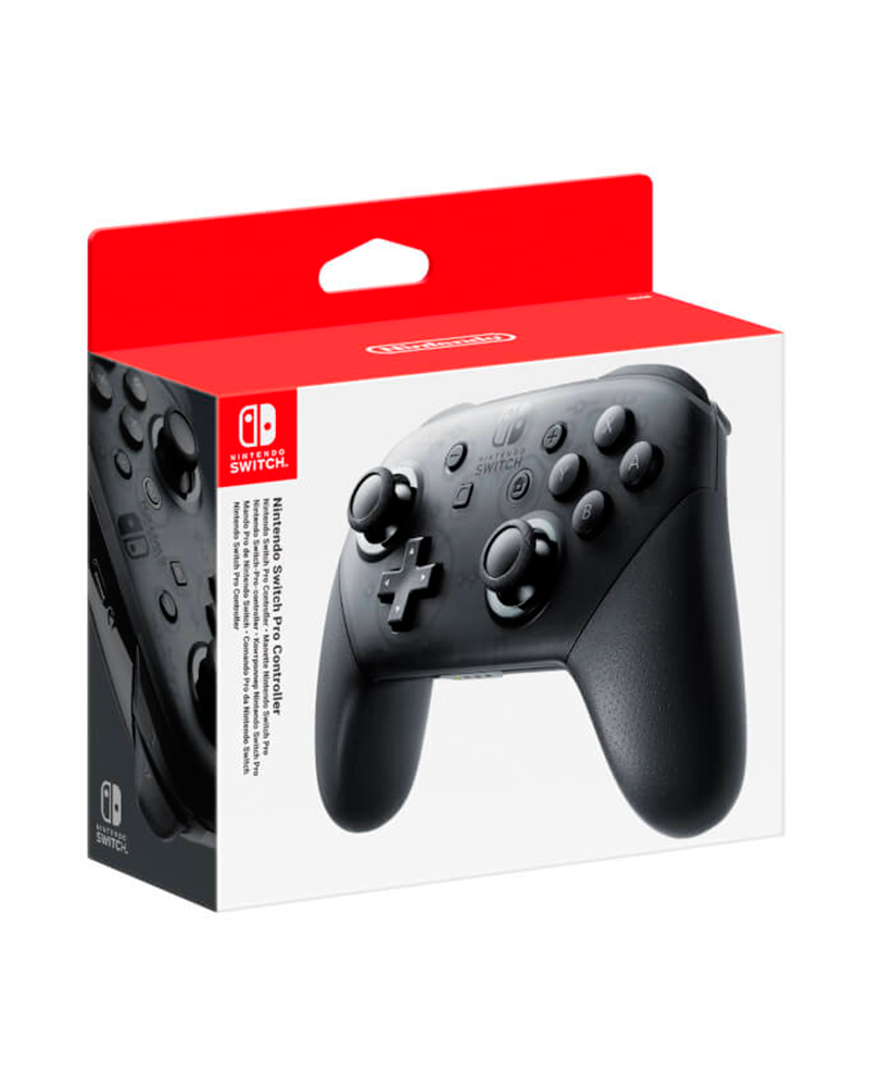 switch acs controle pro black nintendo