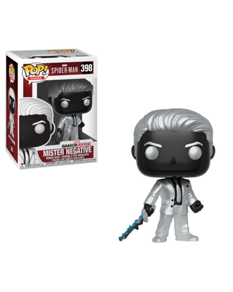 pop spiderman 398 mister negative 30679