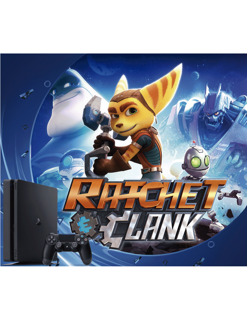 console ps4 cuh 2115a 500gb c ratchet