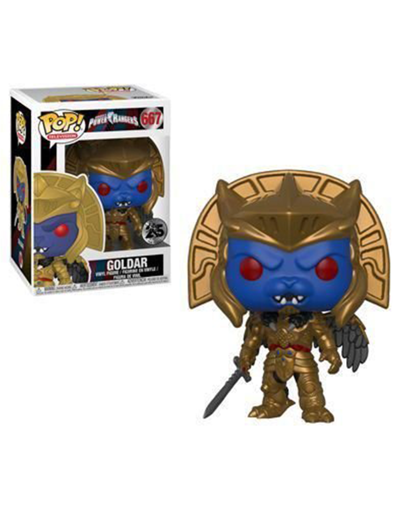 pop power rangers 667 goldar 32801