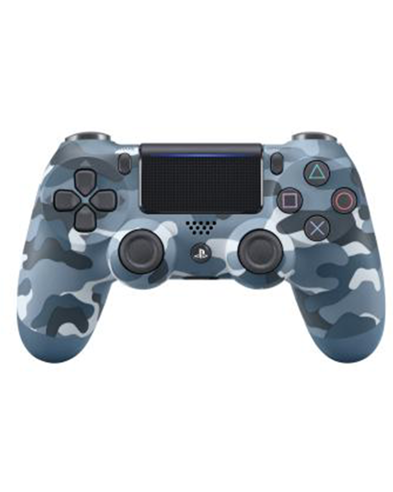 sony4 acs joy  dual camuflado blue