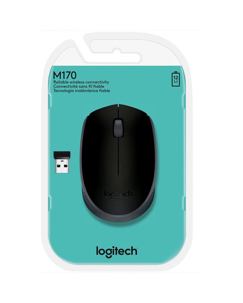 pc mouse wrls logitech m170 blue