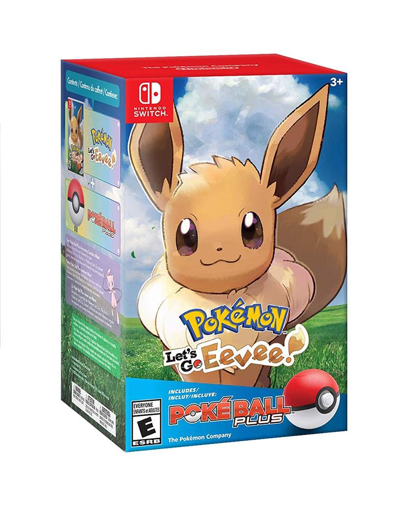switch pokemon bundle eevee pokeball 394