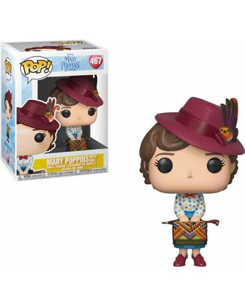 pop mary poppins 467 mary poppins w bag 33907