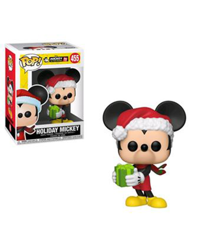 pop mickey 90th 455 holiday mickey 35753