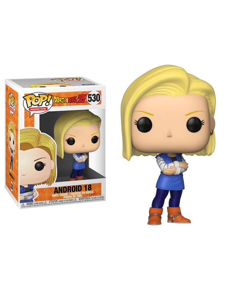 pop dragonballz 530 android 18 36403