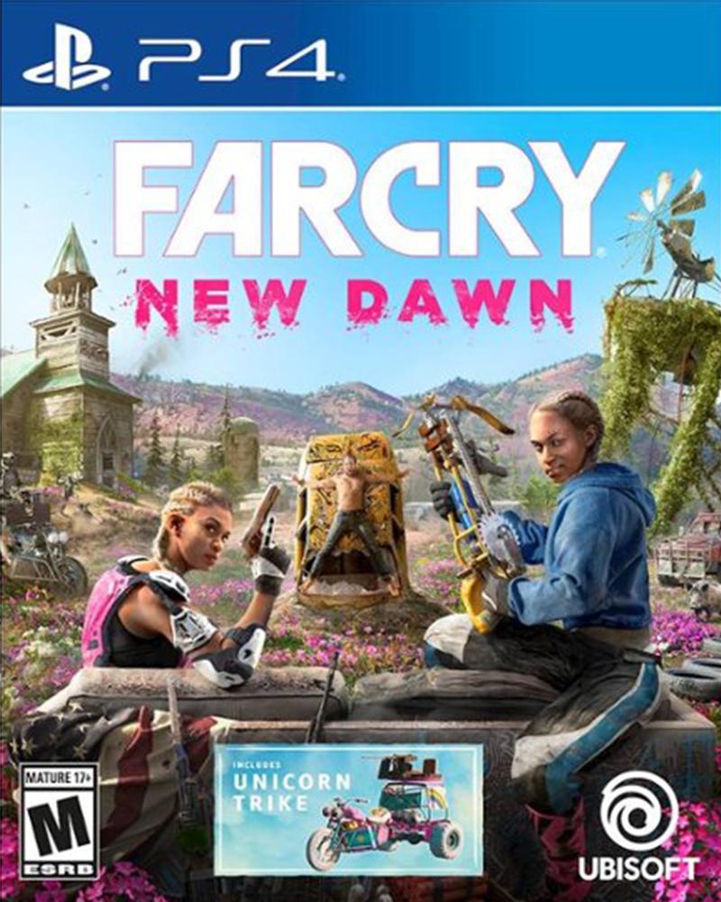 sony4 farcry new dawn