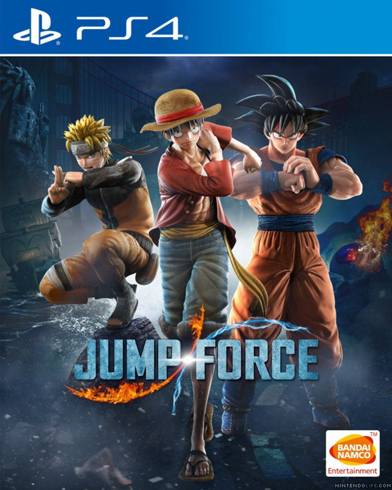 sony4 jump force new