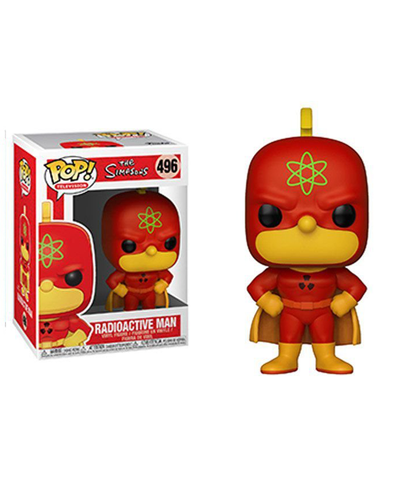 pop the simpsons 496 radioactive man 37690