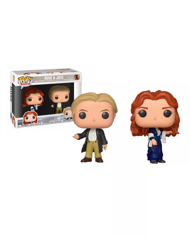 pop titanic 2pack rose   jack 36437