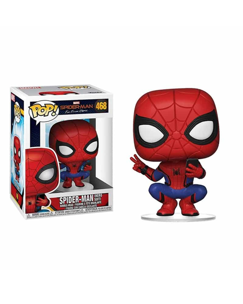 pop spiderman 468 spider man hero suit  39403