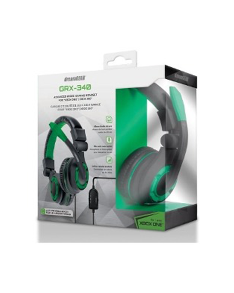 dreamgear headset grx 340 xone 06615 verde