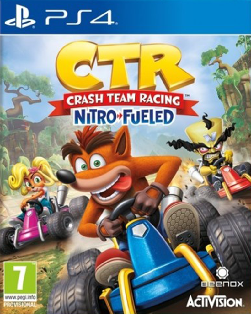 sony4 crash team racing nitro