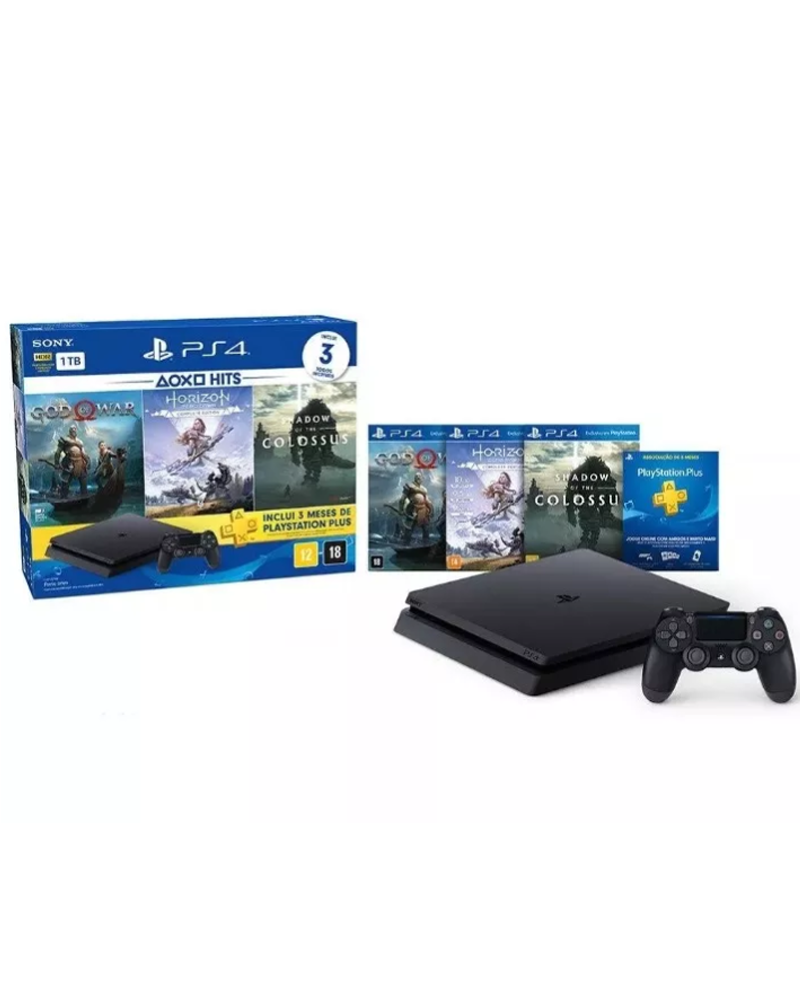 console ps4 01 tb cuh 2215b black 3cds shadow