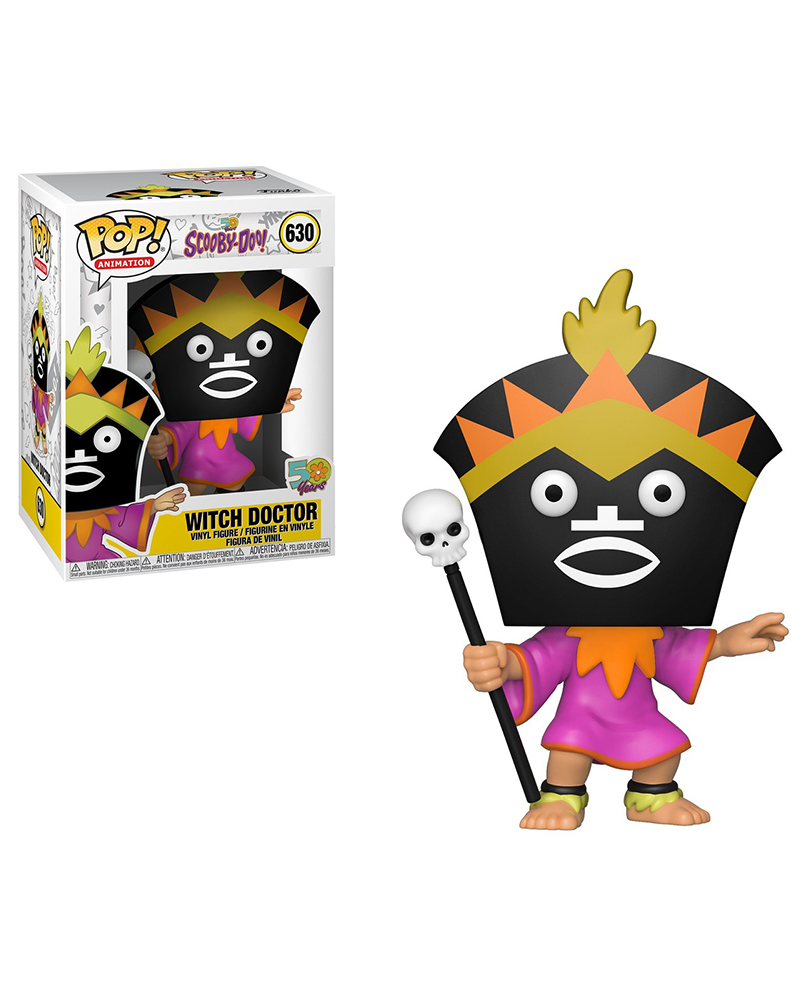 pop scooby doo 630 witch doctor 39948