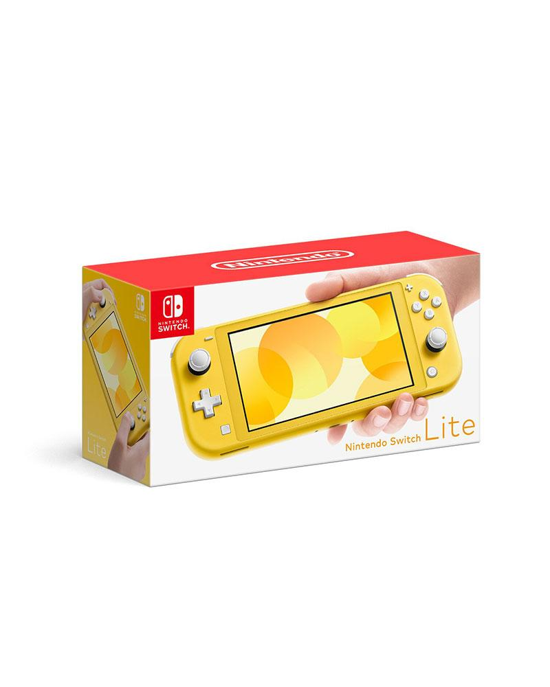 con switch nint  lite  32gb yellow