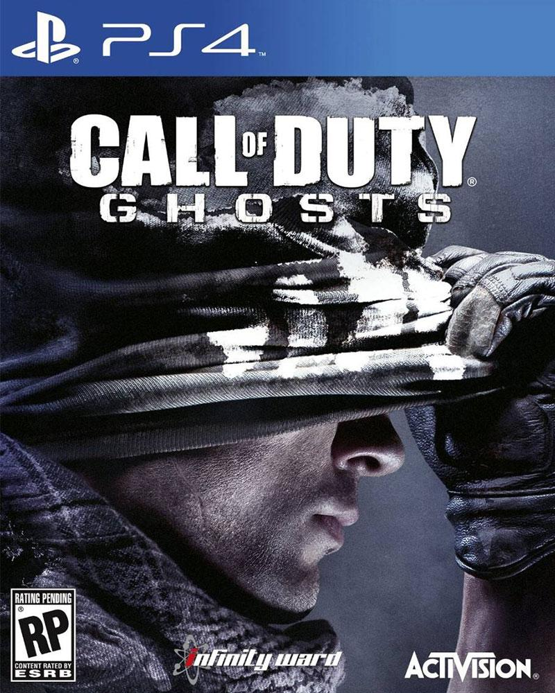 sony4 call of duty ghosts cd