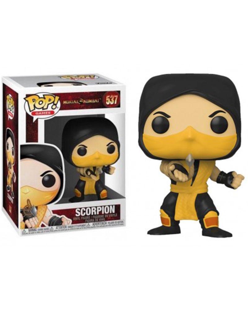 pop mortal kombat xi 537 scorpion 45110