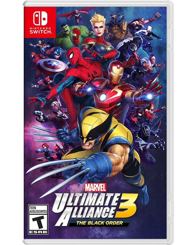 switch marvel ultimate aliance 3