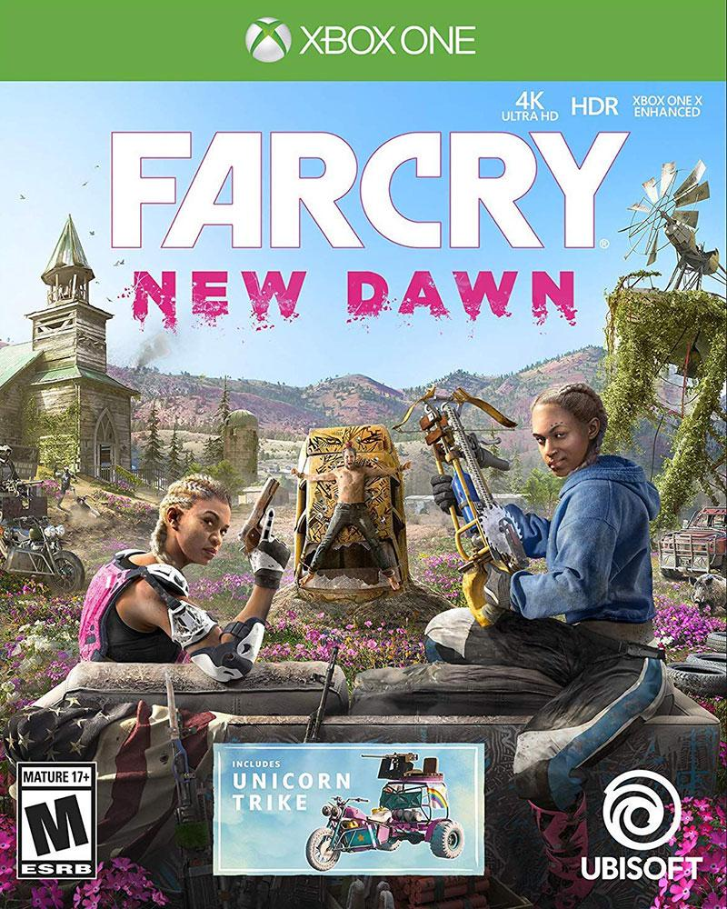 xbox one farcry new dawn