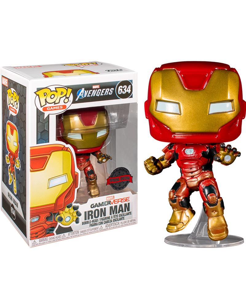 pop avengers 634 ex  iron man