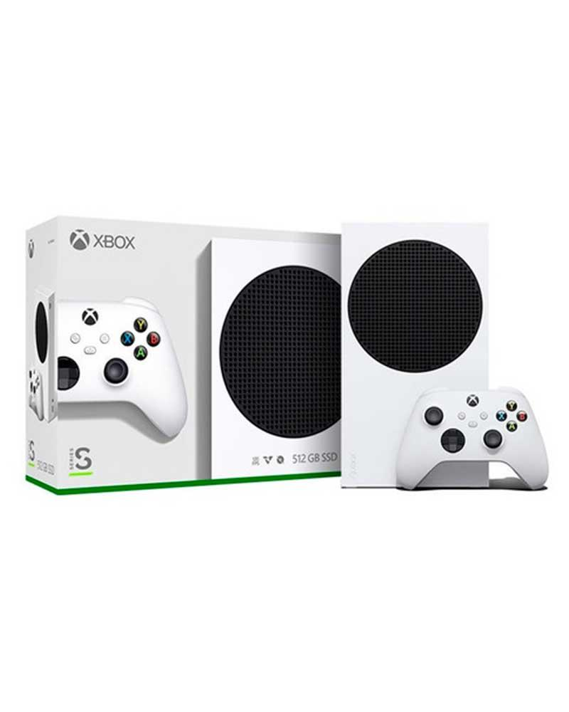 con xbox series s 10gb ssd512gb digital branco