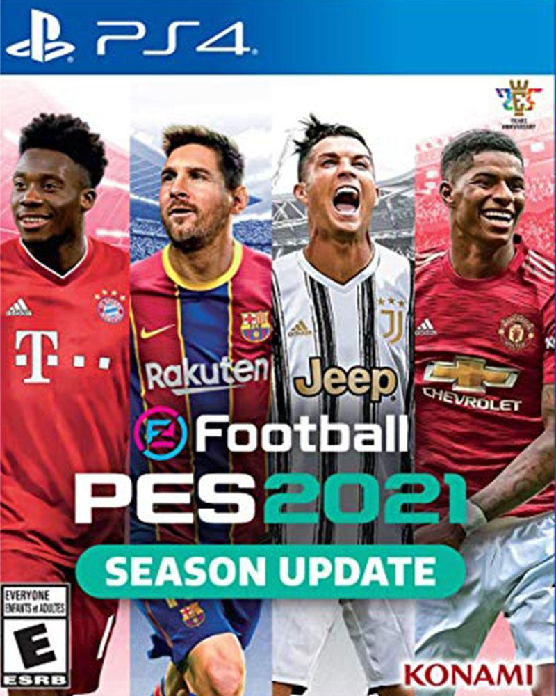 sony4 football pes2021 season update